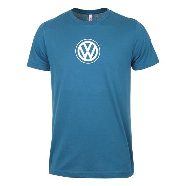 DRG013812 - Volkswagen Everyday T-Shirt. Navy, Brown, Blue | Jim Ellis VW, Kennesaw GA