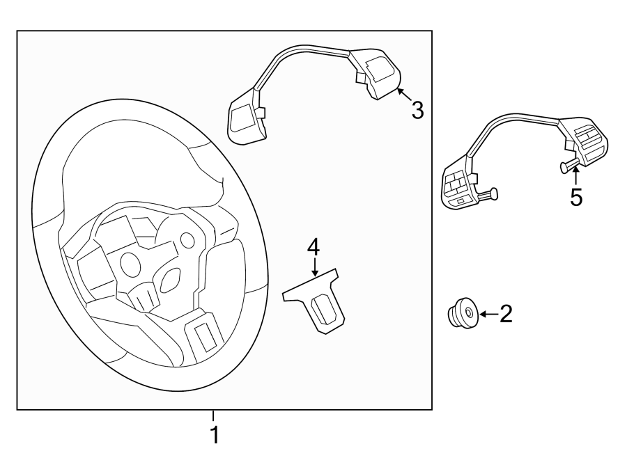 2014 volkswagen cc steering wheel radio controls  function  multi  multifunction