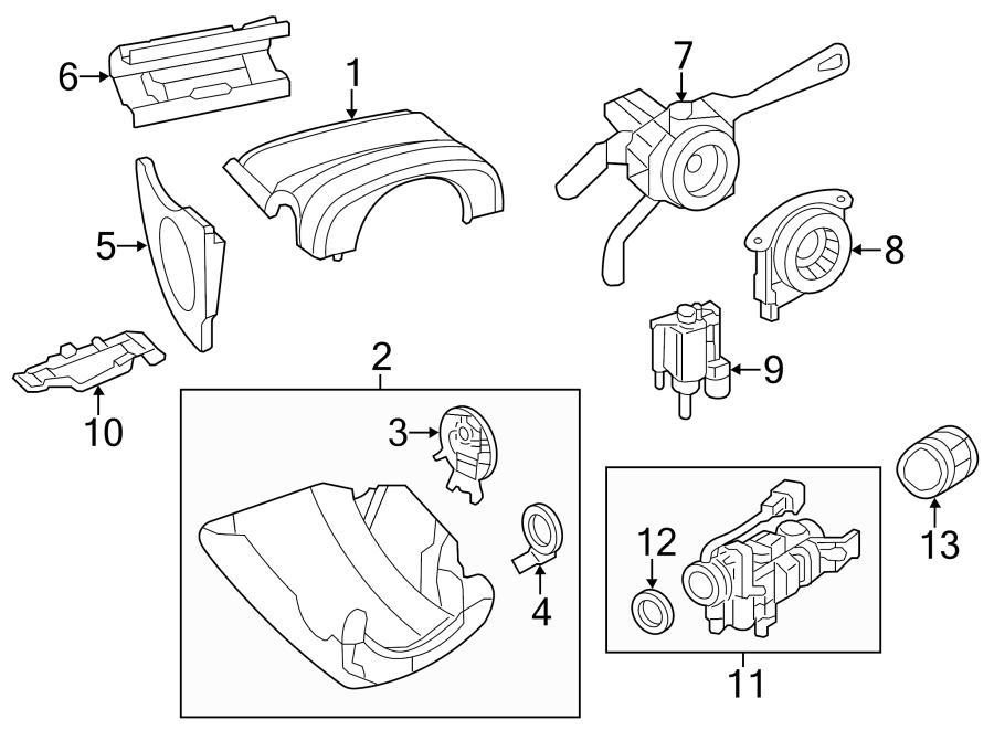 2013 Volkswagen Jetta Lock. Steering. Ignition. Housing ...