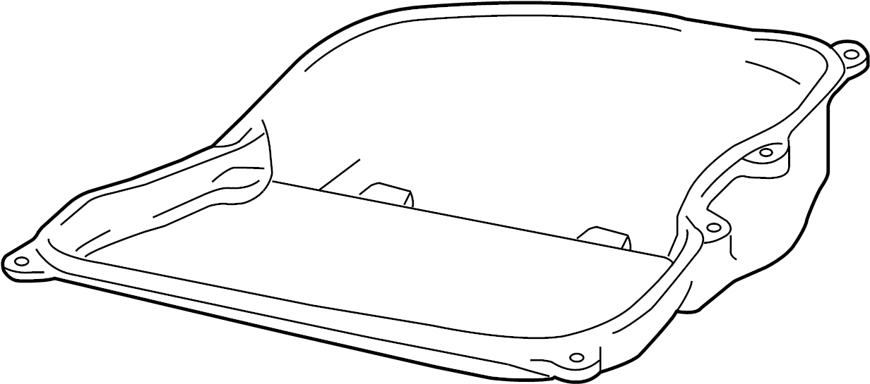 volkswagen jetta automatic transmission oil pan  oil sump