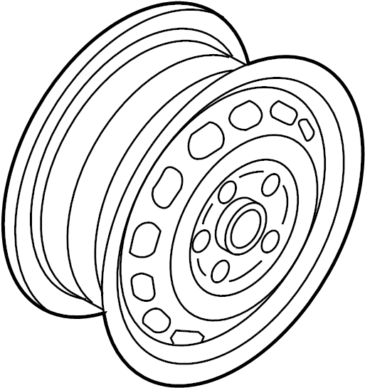 3c8601025ae88z Volkswagen Wheel 18 Inch Wheel Daytona