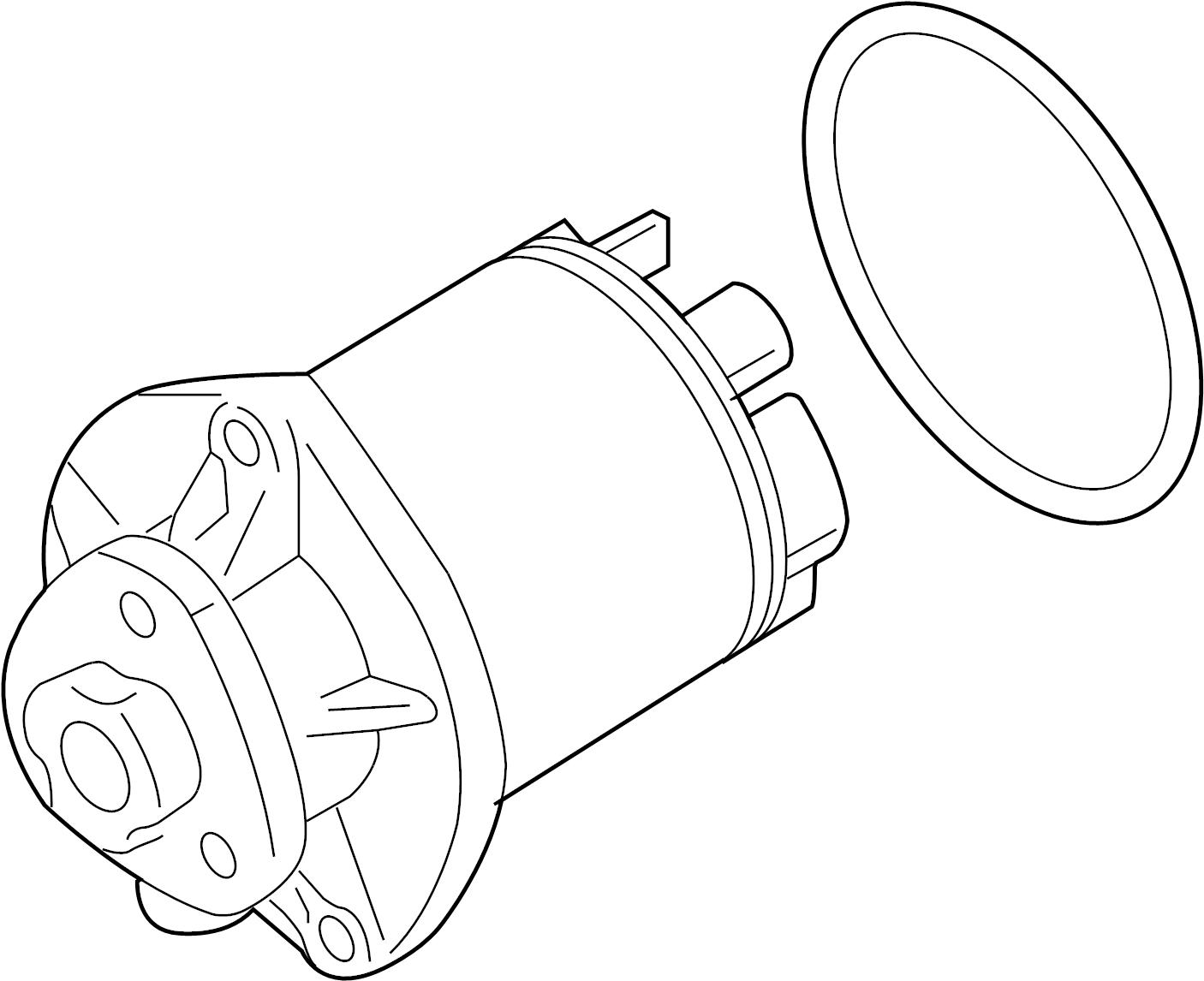 2008 Volkswagen Beetle Convertible Engine Water Pump