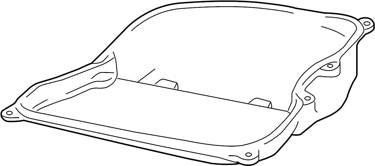Volkswagen Jetta Automatic Transmission Oil Pan Liter