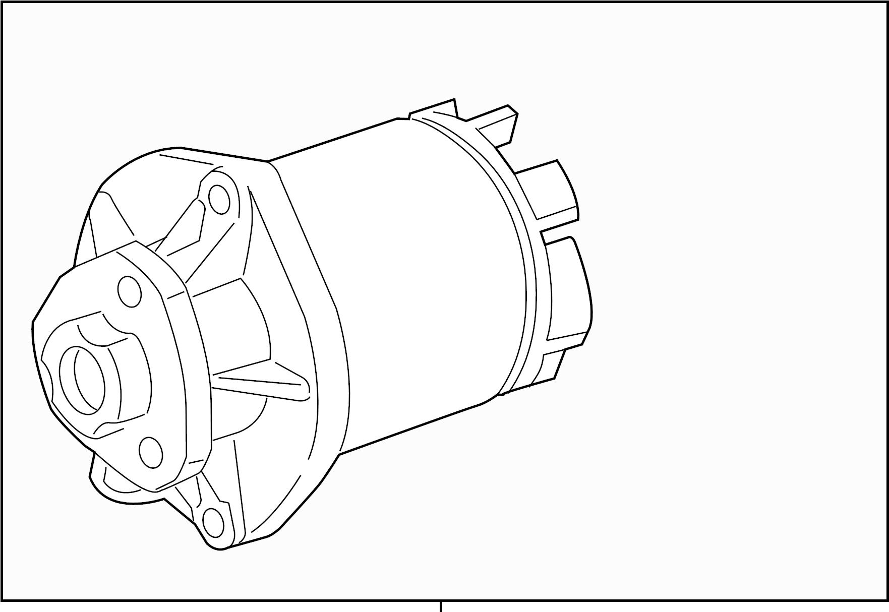 2008 Volkswagen Beetle Convertible Water pump. Group - 07K121011BX | Jim Ellis VW, Kennesaw GA